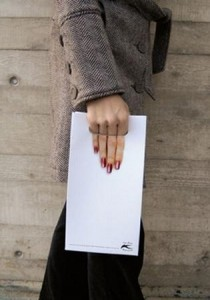 アイディアの紙袋デザイン