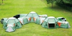 つながるテント